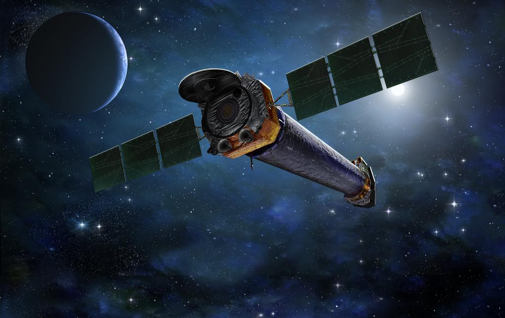 Immagine artistica dello Spacecraft Chandra