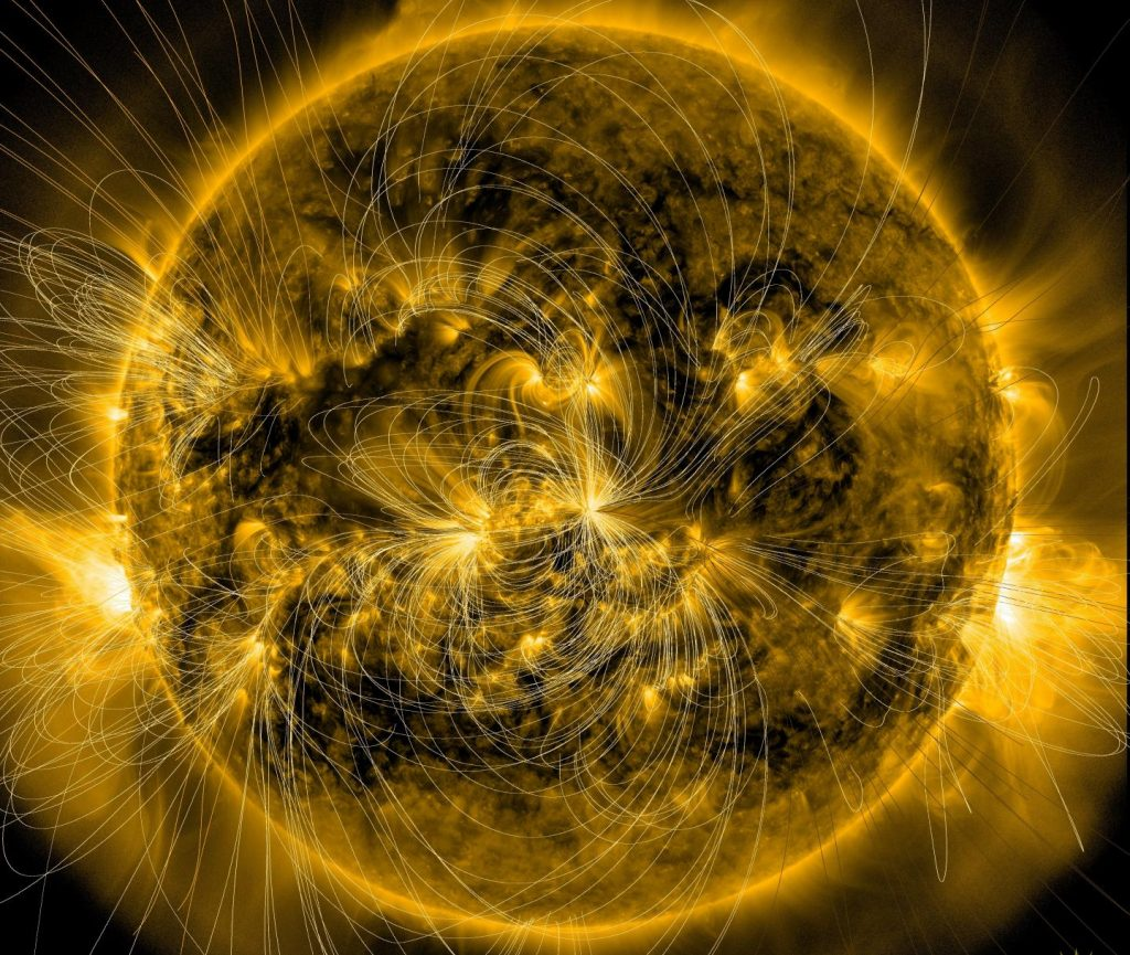 This image of the sun from Jan. 7, 2014