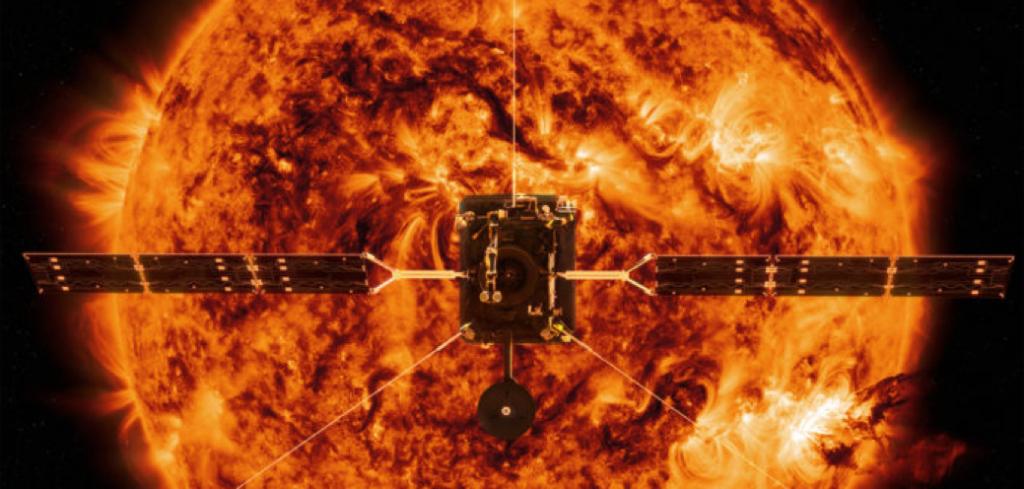 Rappresentazione artistica del Solar Orbiter